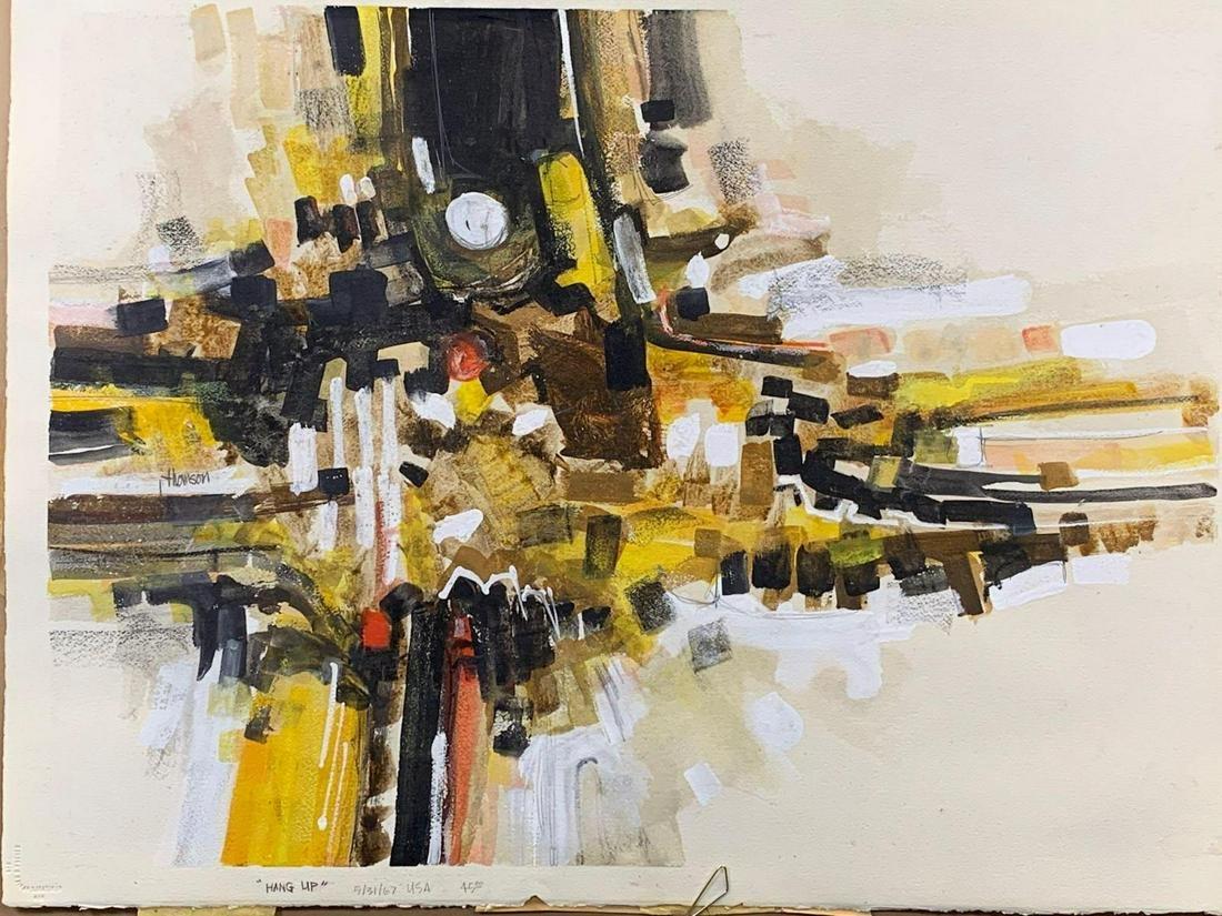 John O Thompson Mid Century Modern Painting