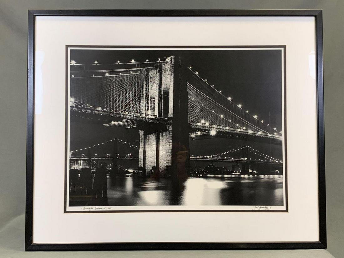 Joel Gueenberg Pthtograph Of The Brooklyn Bridge AT