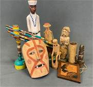 Ethnographic Graphic Folk Art Lot