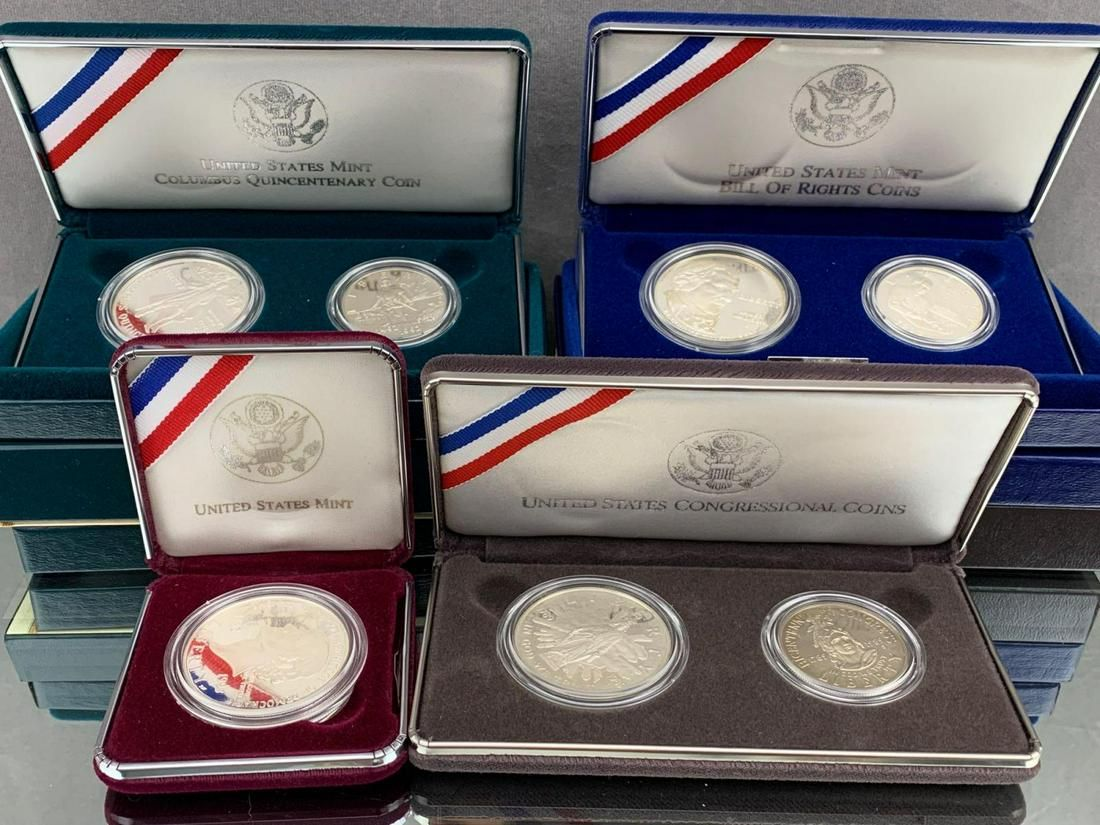 7 United States Mint Proof Coins, including 1992 The