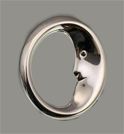 Sterling Silver Tiffany And Company Man In The Moon