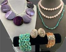 Lot of Semi Precious Stone Jewelry