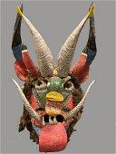 Lagos de Marino, Jalisco Mexico, Ceremonial Mask of a
