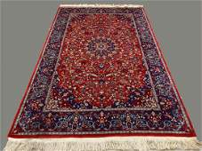 Fine Quality Hand Woven Wool Rug with Persian Design