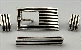 Antonio Pineda 4 Piece Mexican Modernist Gentleman