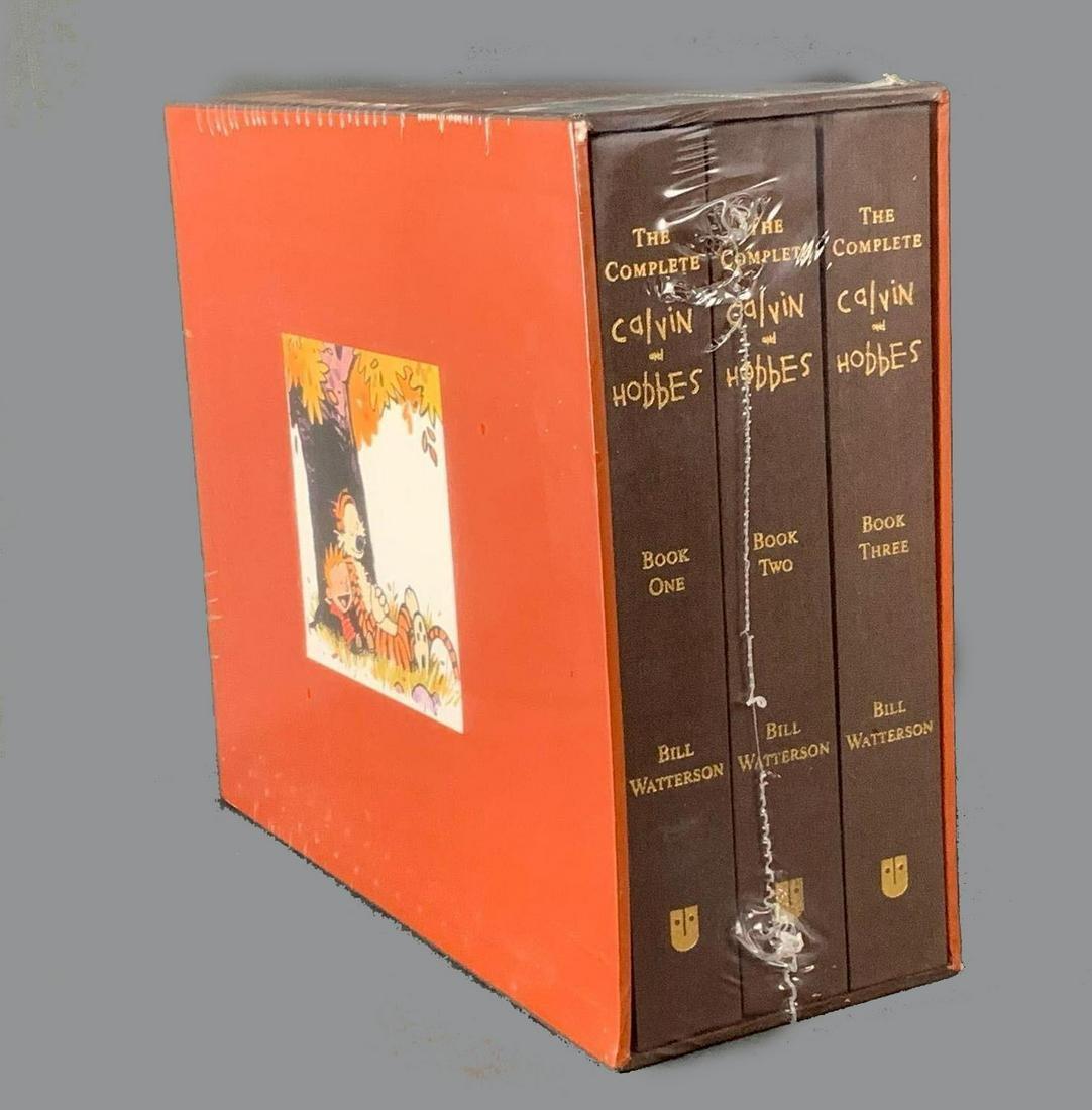 Complete Calvin and Hobbes Three Volume Hard Bound Set