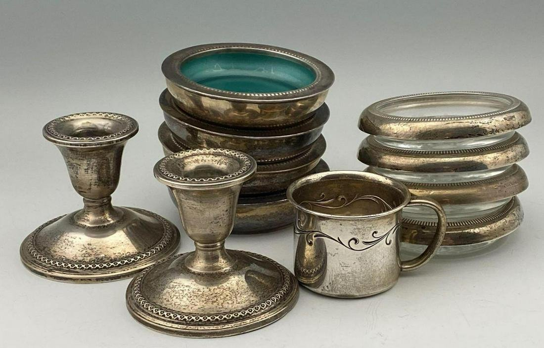 Sterling & Silver Plate Collection