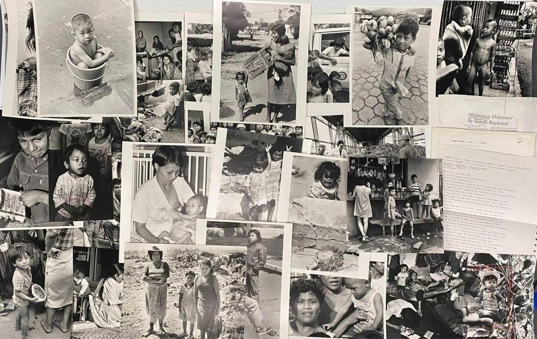 Tom Weber Nicaragua Photographs, With Original Story