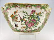 Chinese Export Famille Rose Porcelain Bowl, Enamel and