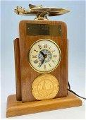 1956 Newport Beach Boat Racing Trophy Clock, Probably