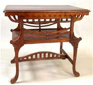Victorian Carved Side Table
