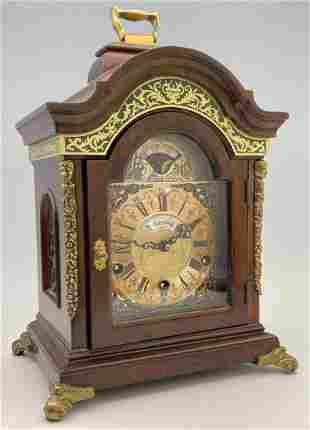 Dutch Warmink Wuba Moonphase Carriage Clock