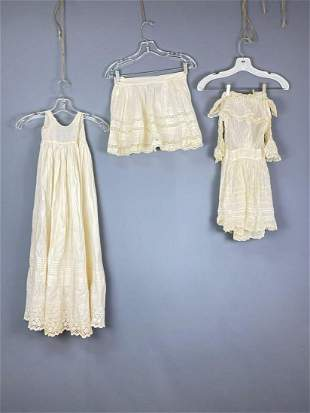 3 Pieces of Antique & Vintage Clothing