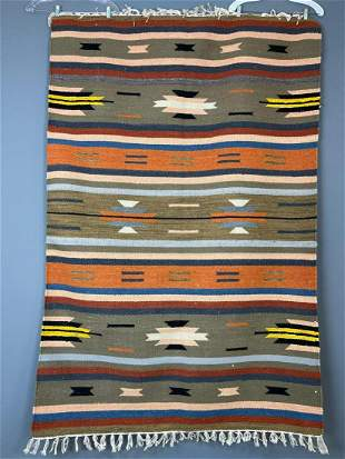 Handmade Wool Rug Tribal Kilim