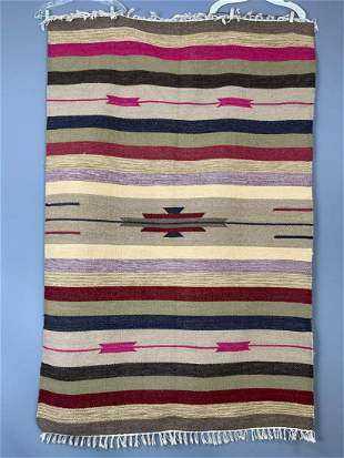 Handmade Wool Tribal Kilim