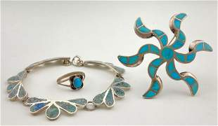 Vintage Native American Turquoise Jewelry