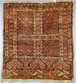 Antique Youmud Turkoman Rug 1880;s-1890