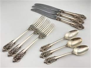 Wallace Sterling Silver flatware, 304.5g