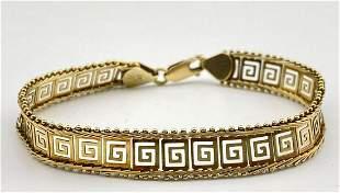 14k Bracelet, 9.7g