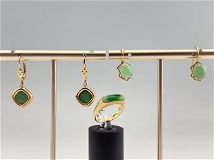 14k & Jade Jewelry