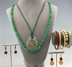 Lot Of Asian Style Jewelry