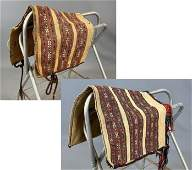 Pair Of Handwoven Persian Or Turkish Camel Bags