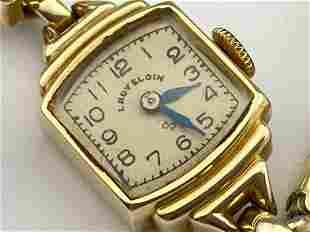 Lady Elgin 14K Gold Watch