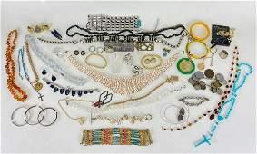20 Plus Pieces Costume Jewelry Lot
