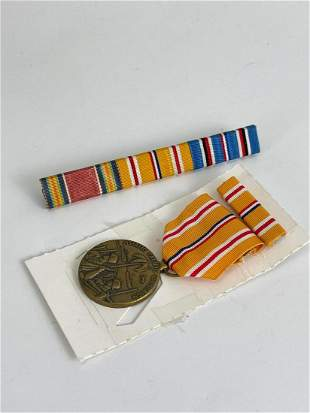 Lot Of Ww2 Named Ephemera, Medals And Dog Tags