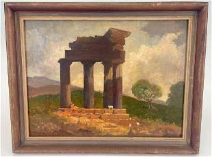Society For Sanity In Art, Classical Ruins Landscape,