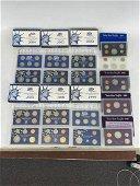 16 US Mint Proof Sets, 1972-2020