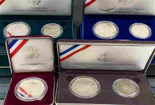 7 United States Mint Proof Coins