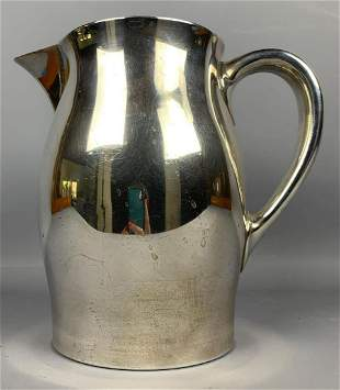 Paul Revere sterling silver water pitcher 678 g