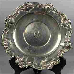 Gorham Sterling silver platter, 422 g
