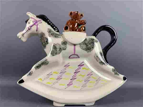 Richard Parrington For Gumps Ceramic Tea Pot