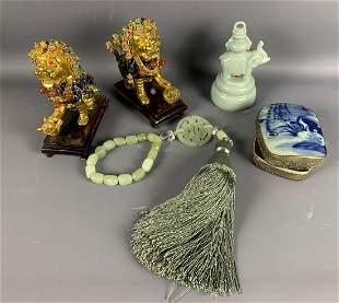 Lot of Asian Decor
