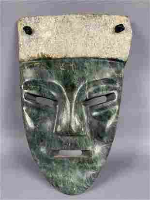 Stone hand carved mask