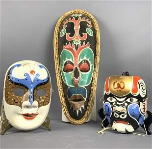 Indigenous And Decorative Masks