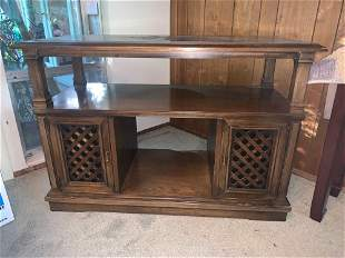 Vintage solid wood cabinet
