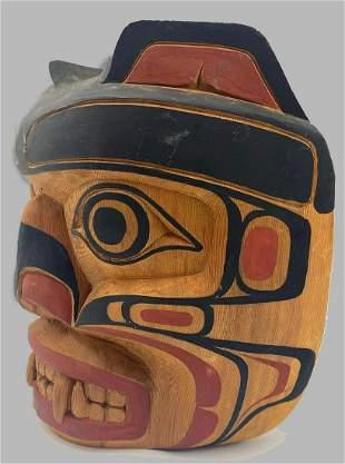 Vintage Alaskan Totem Mask