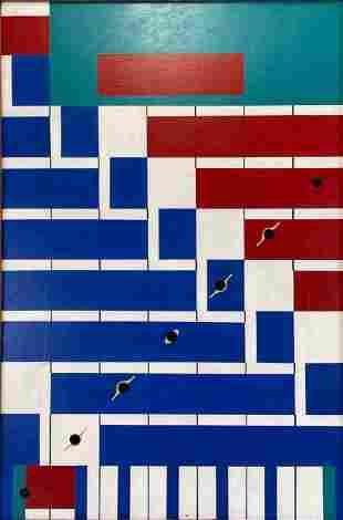 Rhythms Of Winter, Harri Clark, California Geometric