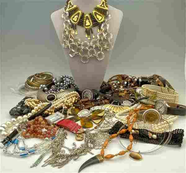 Large Costume Jewelry Lot