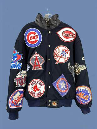 MLB Jacket with Team Patches