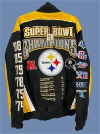 NFL Pittsburg Steelers 6 Times Super Bowl Champions