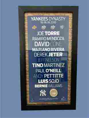 """""""Yankees Dynasty€ Authenticated New York Yankees"""