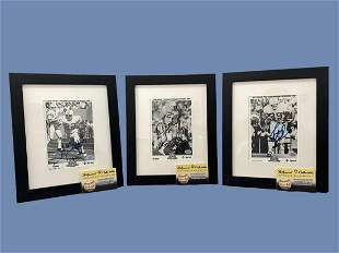 """Signed by Eugene """"Mercury€ Morris, Jim Kiick, and"""