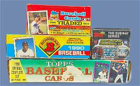 Topps and Bowman Baseball Cards
