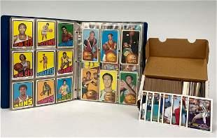 Baseball and Basketball Cards, 1969-1991