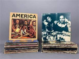 Lot Of 43 Vinyl Records