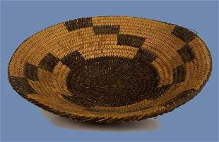 Finely Woven Native American Pima Tray